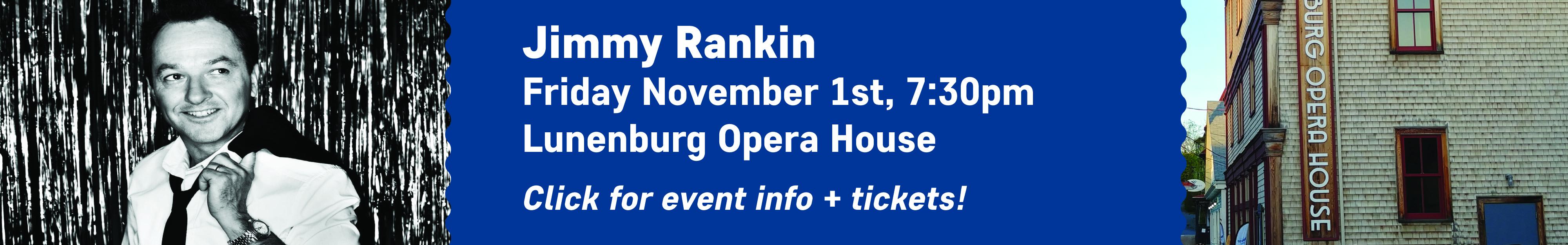 Jimmy Rankin - Lunenburg Opera House