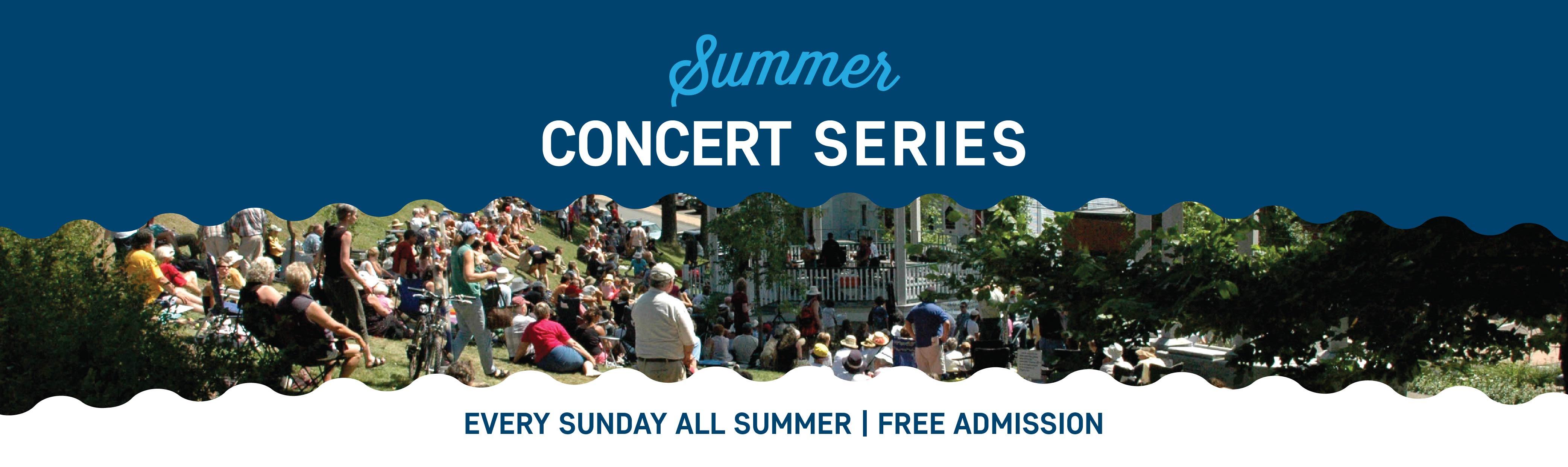 Summer Concert Series WEB Banners