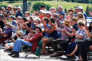 Wharf Audience Clapping
